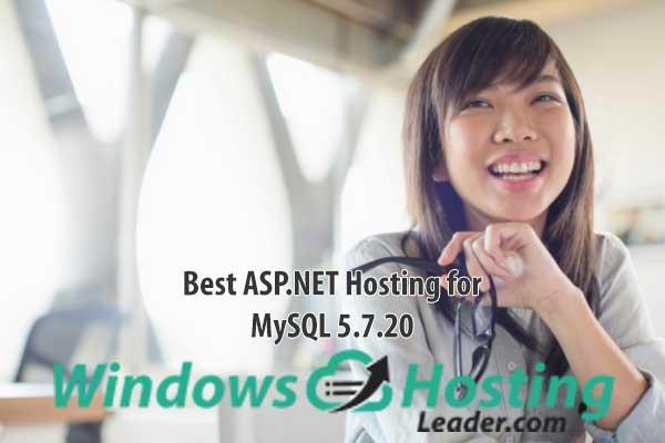 Best ASP.NET Hosting for MySQL 5.7.20