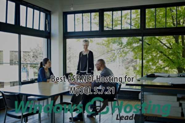 Best ASP.NET Hosting for MySQL 5.7.21