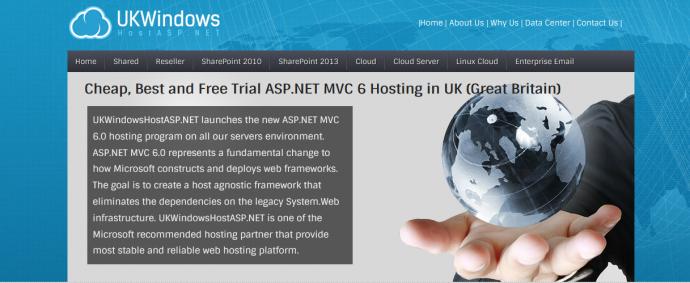 Best Windows Hosting for ASP.NET MVC 6 UK Based Recommendation