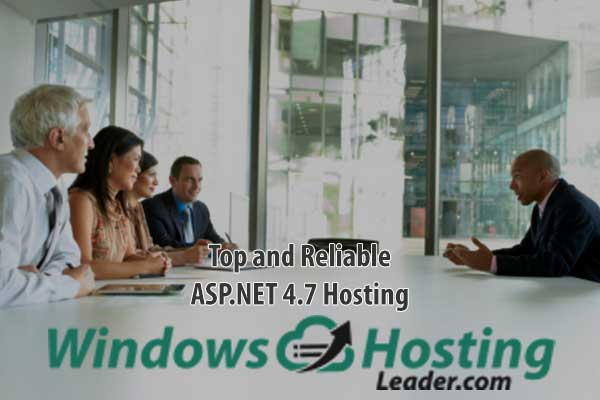 Top and Reliable ASP.NET 4.7 Hosting