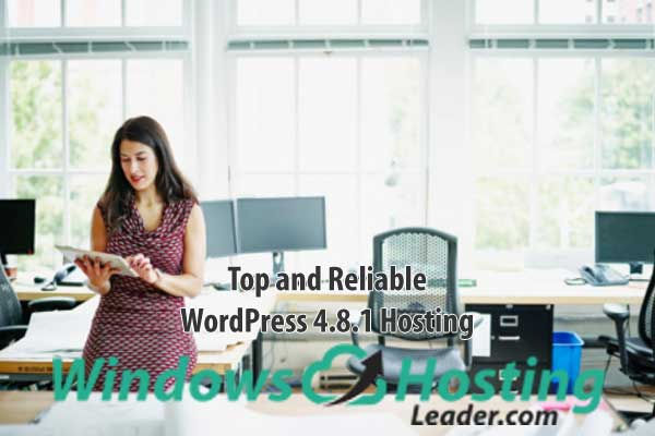 Top and Reliable WordPress 4.8.1 Hosting