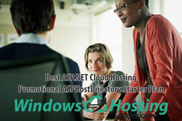 Best ASP.NET Cloud Hosting - Promotional ASPHostDirectory Starter Plan