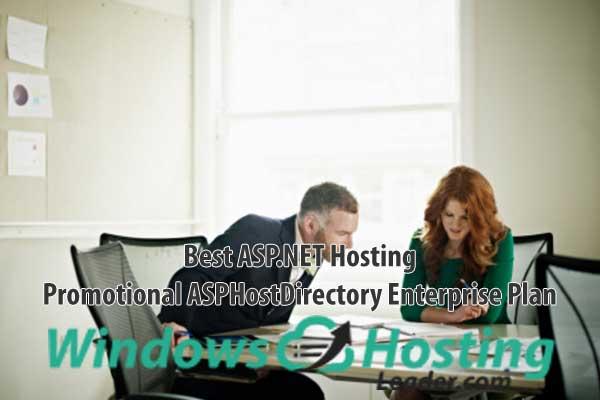 Best ASP.NET Hosting - Promotional ASPHostDirectory Enterprise Plan