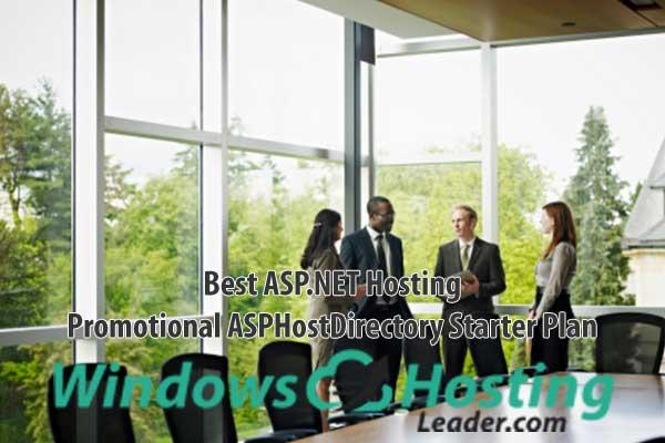 Best ASP.NET Hosting - Promotional ASPHostDirectory Starter Plan