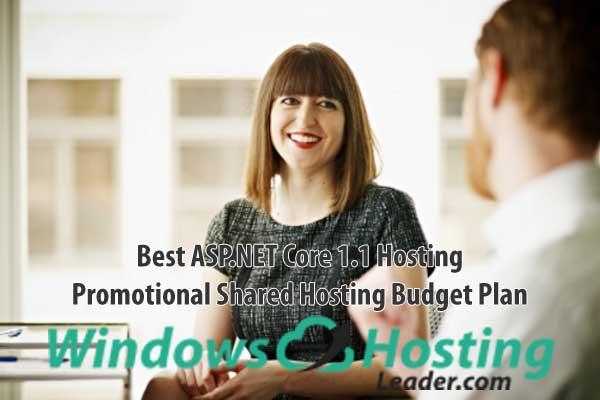 Best ASP.NET Core 1.1 Hosting - Promotional Shared Hosting Budget Plan