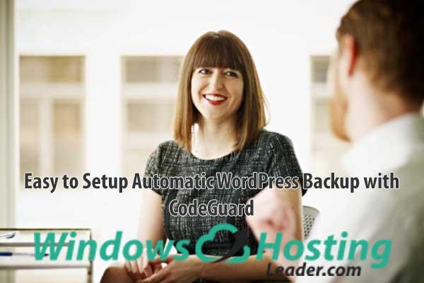 CodeGuard Tutorial - Easy to Setup Automatic WordPress Backup with CodeGuard