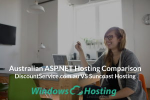 Australian ASP.NET Hosting Comparison - DiscountService.com.au VS Suncoast Hosting