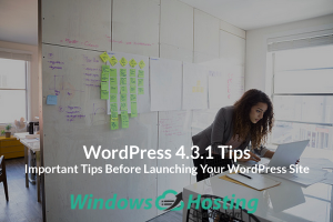 WordPress 4.3.1 Tips - Important Tips Before Launching Your WordPress Site