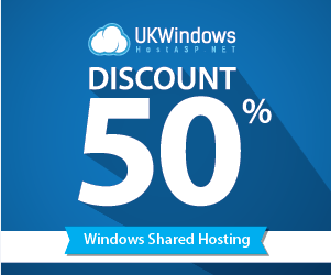 UKWindowsHostASP.NET 50% Off
